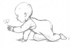 Aus dem Skizzenbuch - Baby