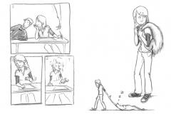 Aus dem Skizzenbuch - Faultier3