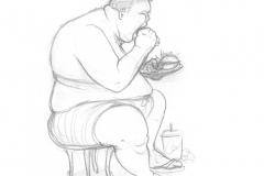 Aus dem Skizzenbuch - Hunger