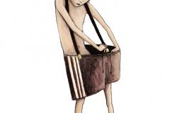 """freie Illustration """"Jonah & Piet - wir sind ganz anders"""""""