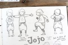 Charaktersheet, Jojo