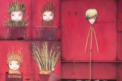 "Illustration & Text ""Jonah & Piet - wir sind ganz anders"" (Aracari Verlag 2011)"