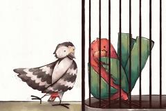 """Illustration """"Tim, der kleine Papagei"""" (Mathilda Verlag, 2018)"""
