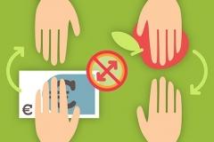 "digitale Illustration ""Bleib sauber - Hygieneregeln im Schulkiosk"" (FH Münster)"