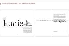 """Grafikdesign - """"Lucie im Wald mit dem Dingsda"""" Typografie (Semesterarbeit)"""