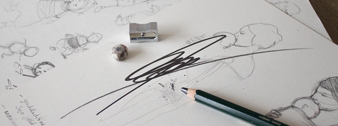 Der K(r)ampf mit dem Bleistift