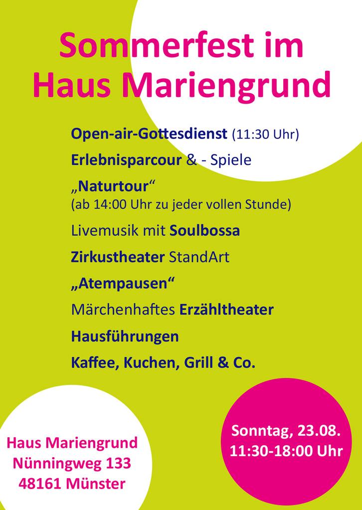 Sommerfest_Mariengrund