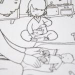 Babyflitterwochen - Jojo hilft beim Wickeln