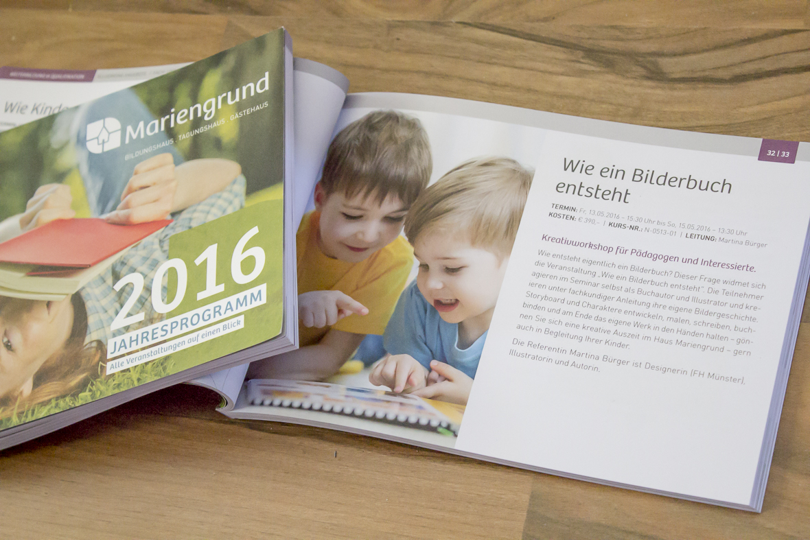 """Seminar """"Wie entsteht ein Bilderbuch"""""""
