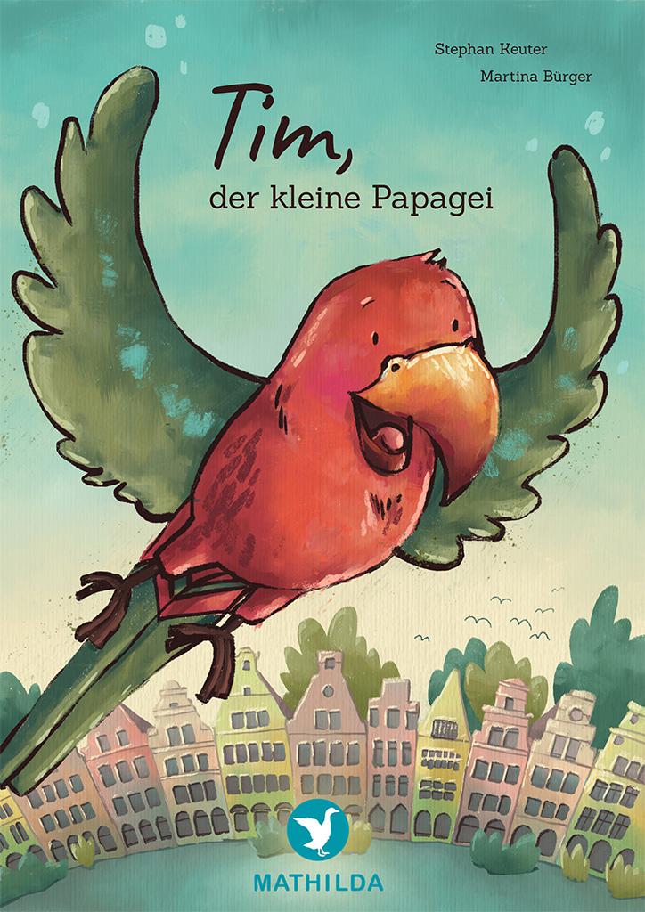 Tim, der kleine Papagei
