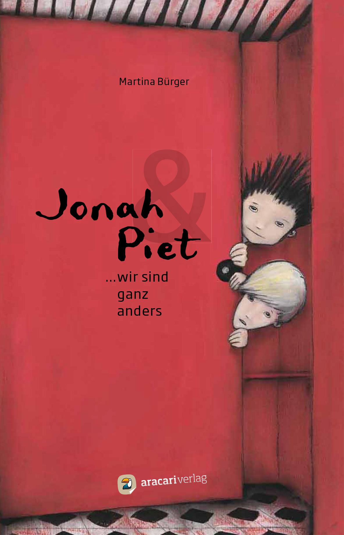 Jonah & Piet – Wir sind ganz anders (Aracari Verlag)